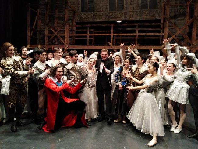 Po představení Třech mušketýrů v Národním divadle moravskoslezském v Ostravě