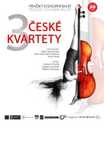plakát 3 ČESKÉ KVARTETY